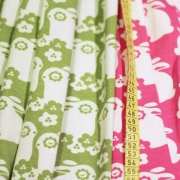 Paapii Design organic fabric Flowersbunnies