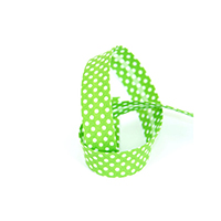 Biais tape through pea 18 mm green 74801856