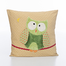 Applied sewing kits green Owl Jobolino