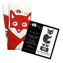 Paapii Design sewing kits fox cushions