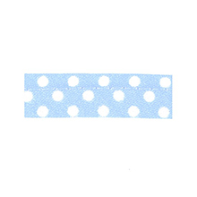 Sewing light blue with white dots 10 mm 74851008