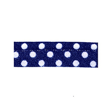 Sewing piping marine with white dots 10 mm 74851022