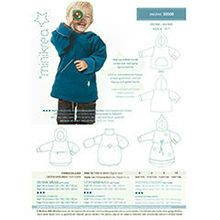 Minikrea sewing pattern anorak 30500