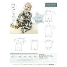 Minikrea sewing pattern body 20401