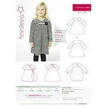 Minikrea sewing pattern T-shirt dress 20003