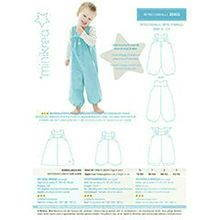 Minikrea sewing pattern overalls 20455